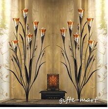 "6 LARGE 32"" tall peach Candelabra flower floral candle holder wedding decoration"