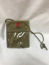 London Bridge LBT 2137E Coyote Tan Badge Holder Neck ID Condor Passport LBT