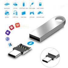 USB C zu USB A 3.0 Adapter Konverter Verbinder Aluminium für Handy PC Computer