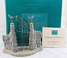 """WDCC """"Jack Skellington's Gate"""" from The Nightmare Before Christmas in Box, COA"""