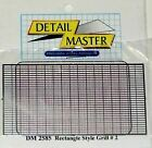 DETAIL MASTER 1/24-1/25 FRONT RECTANGLE GRILLE  2585