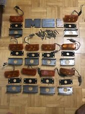MCI Bus Parts 10 Side LED Amber Lights With Front MCI Emblem