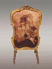 Pare-feu style Louis XV bois doré Napoléon III