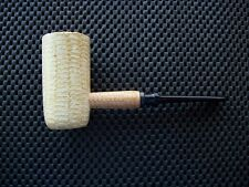 Missouri Meerschaum Corn Cob Tobacco Pipe General Straight Black Danish Stem