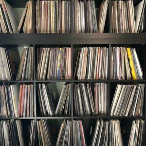 Lot of 50 **HOUSE MUSIC** DJ VINYL