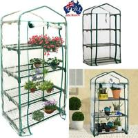 Garden Greenhouse 3/4/5 Tiers Veg Plant House Shed PVC Cover Not included shelf