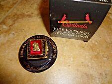 St Louis Cardinals 1968 National League Champions Replica Ring Busch SGA 5-19-18