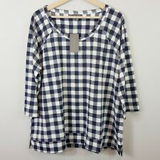 [ AUTOGRAPH ] Womens Gingham check Top NEW  | Size AU 18 or US 14