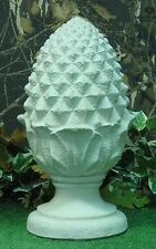 Medium Pineapple Artichoke Finial Fountain Top Latex Fiberglass Mold Concrete