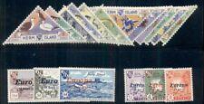 HERM ISLAND LOCALS 1949-1961, 3 DIFFERENT COMPLETE SETS, OG,LH,VF