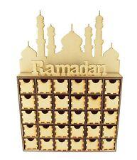 Laser Cut Ramadan Calendar Drawers - 30 Drawers