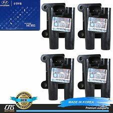 GENUINE 00-02 For Hyundai Accent 1.5 SOHC Ignition Coil OEM 27310-22600 SET OF 4