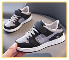 Boys Girls Children Casual Shoes Sports Shoes,School Outdoor Trainers Lace Up UK