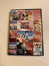 10 Movie Mega Pack (Vol 2) DVD Russel Crow Ben Affleck Rob Schneider Jane Lynch
