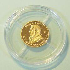 Liberia 10 Dollar Krügerrand 2005 0,5 g 585 Gold/AU Kapsel PP Zertifikat