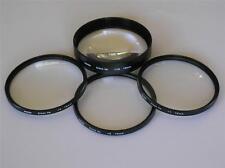 Kood 58mm Primi Piani Lens Set di 4 + Custodia +1 +2 +4 +10 Dioptre obiettivi ravvicinati ti