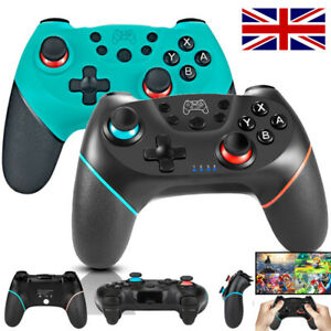 Wireless Gamepad Joystick Pro Controller for Nintendo Switch Game + Cable UK NEW