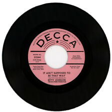 "BETTY JOHNSON  ""IT AIN'T SUPPOSED TO BE THAT WAY""  DEMO     NORTHERN SOUL"