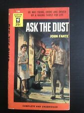 JOHN FANTE ASK THE DUST OOP EXTREMELY SCARCE