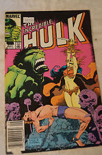 The Incredible Hulk -  Classic Marvel Comic Book - Life is a Four Letter Word.