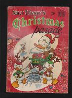 Walt Disney's Christmas Parade #1 (Dell Giant) 1949 CARL BARKS Donald Duck