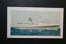 SS STATENDAM   Holland America Line       Illustrated Colour Card  VGC