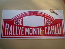 Rallye Monte Carlo Centenario 1966 16inch Etiqueta Roja