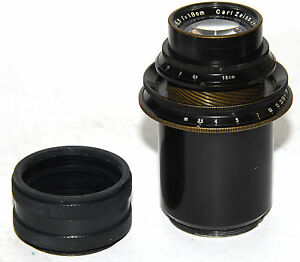 Carl Zeiss Jena TELE-TESSAR 6.3/180mm with adapter to M42