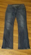 '10 Old Navy Sweetheart Women's 4R Mid Whisker 6 Pkt Straight Leg Jeans 28x31