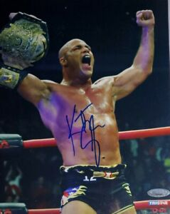 Kurt Angle Authentic Signed 8x10 Photo w/Tristar COA WWE TNA HOF