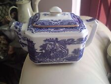 Ringtons Tea. Blue And White Tea Pot By Wade, VGC, FREE-MAILING.REDUCED.