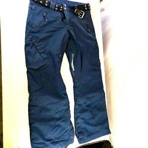 dc shoes blue snowboard pants winter snow ski hiking Large