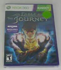 Fable The Journey XBOX 360 Magic Wizard Kinect Factory Sealed Video Game A9-1