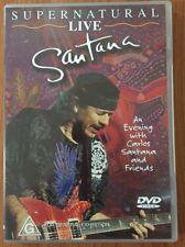 Santana - Supernatural Live [ DVD ] Region 1 GOOD CONDITION
