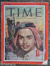 Time Magazine   April 2,1956  Jordan's King Hussein   VINTAGE ADS