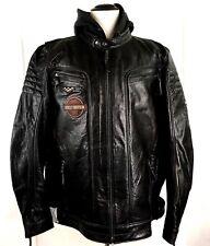 Harley-Davidson Mens 3XLT Marmax Racing 3-in-1 Leather Jacket Black 97002-18VM