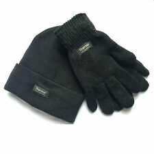fa67638edf97f5 Men Thermal Hat and Gloves 3M Ski Warm Winter Hat and Gloves