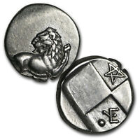 Thrace Chersonesus Silver Hemidrachm Lion (400-350 BC) VG-XF - SKU#168936