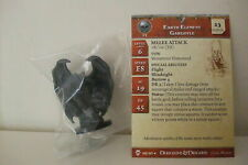 Dungeons & Dragons Miniatures EARTH ELEMENT GARGOYLE+CARD-Blood War (Cod D&D 28)