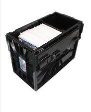 BCW Short Comic Book Storage Box Bin Plastic Heavy Duty Stackable (Case of 5)