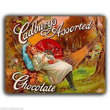 METAL SIGN WALL PLAQUE  Vintage CADBURY'S CHOCOLATE poster art print Kitchen Bar