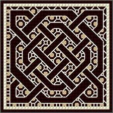 DoodleCraft Minis - Counted Cross Stitch & Blackwork Kit - Celtic Knots 4