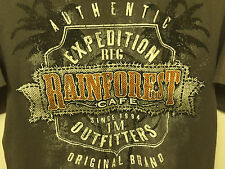 Rainforest café adult t-shirt short sleeve gray orlando m souvenir