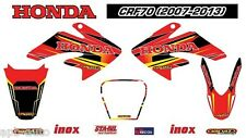 HONDA CRF70 STICKER DECAL KIT FOR HONDA CRF70 CRF 70 DECAL STICKERS- 2007-2013