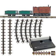 Busch FERROVIA 12004 transportbahn-startset # NUOVO in scatola originale #