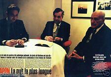 Coupure de Presse Clipping 1998 (6 pages) Procès Papon Nuit la plus longue