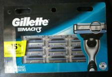 NEW Gillette MACH3 Refills Razor Blades - 12 Cartridges