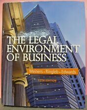 The Legal Environment of Business 12th US Edition Hardcover *READ DESCRIPTION*