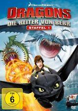 DRAGONS-DIE REITER VON BERK STAFFEL 1  4 DVD NEU