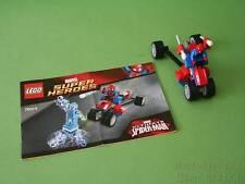 Partie de LEGO set 76014 Spider-Trike [SPIDER-MAN] vs Electro * No Electro Figure *